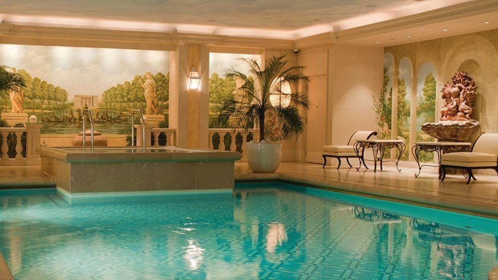 Zwembad in Parijs