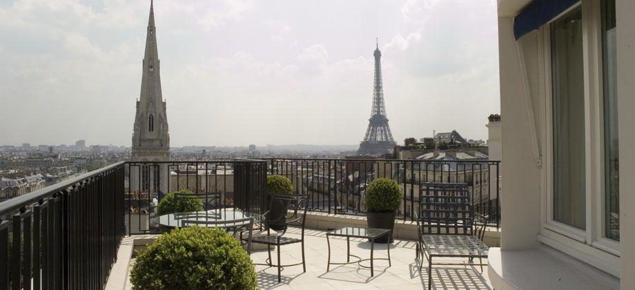 Balkon in Parijs