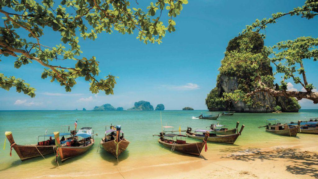 Stranden van Thailand