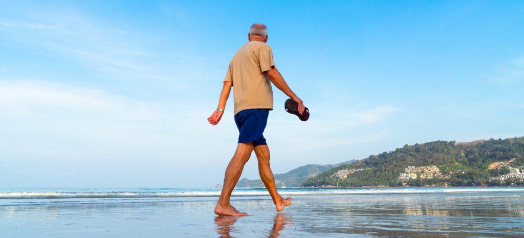 Senioren strandvakantie reis