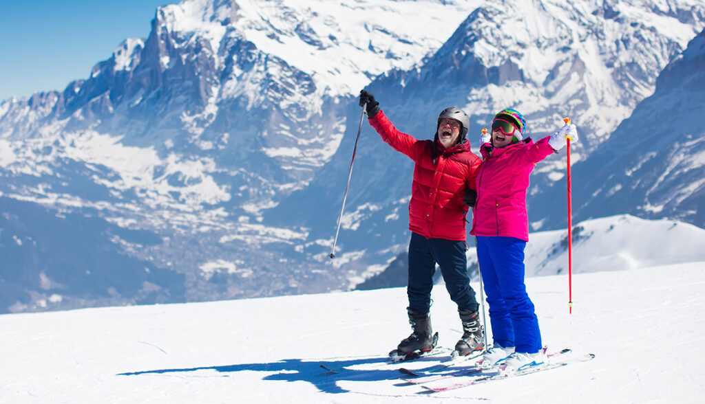 Senioren-reizen op wintersport